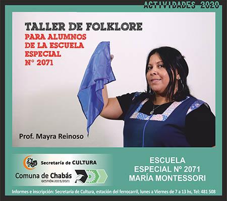 Folklore Escuela Especial