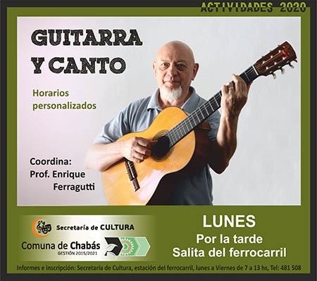 Guitarra y Canto